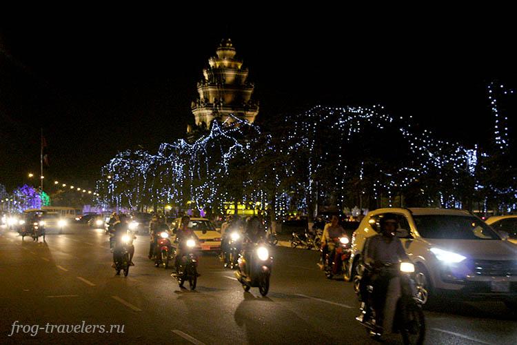 Аренда скутера в Камбодже