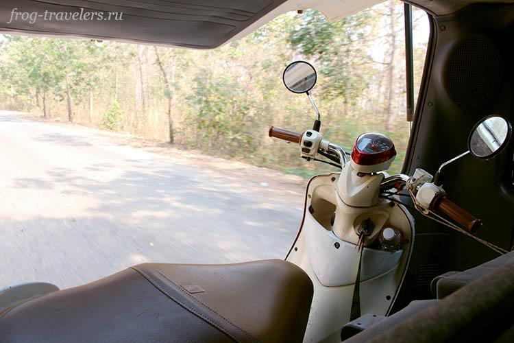Перевозка мотоцикла Камбоджа
