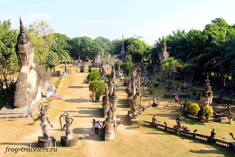 Будда-парк Лаос