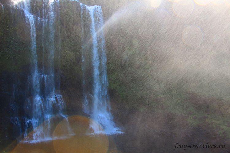 Водопады южный Лаос