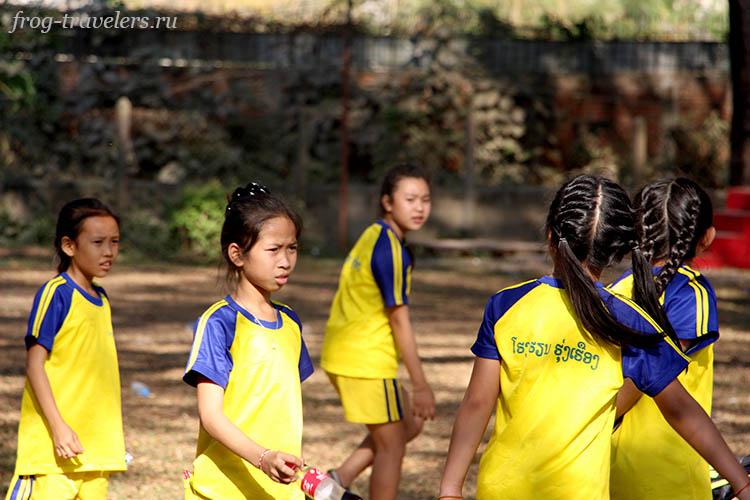 Девочки Лаос