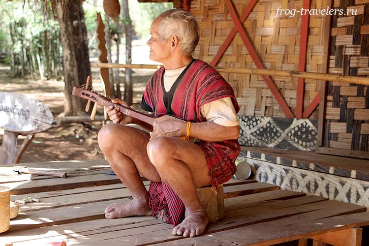 Этническая группа народа лава в Лаосе