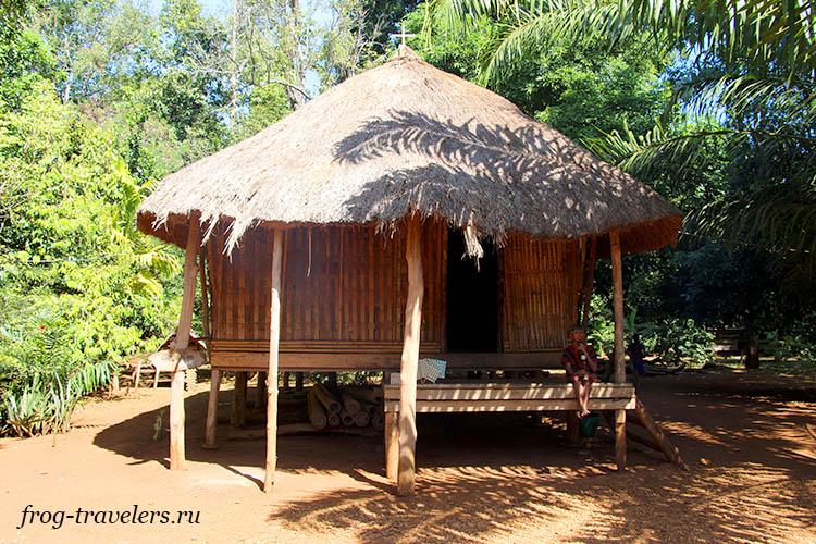 Дома в Лаосе