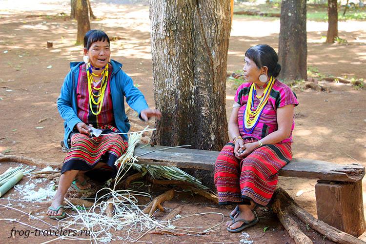 Жители Лаоса