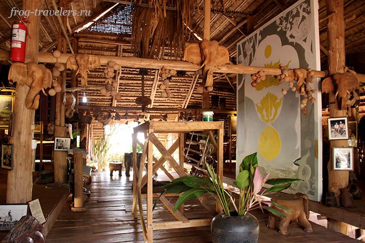 Музей плато Болавен Лаос