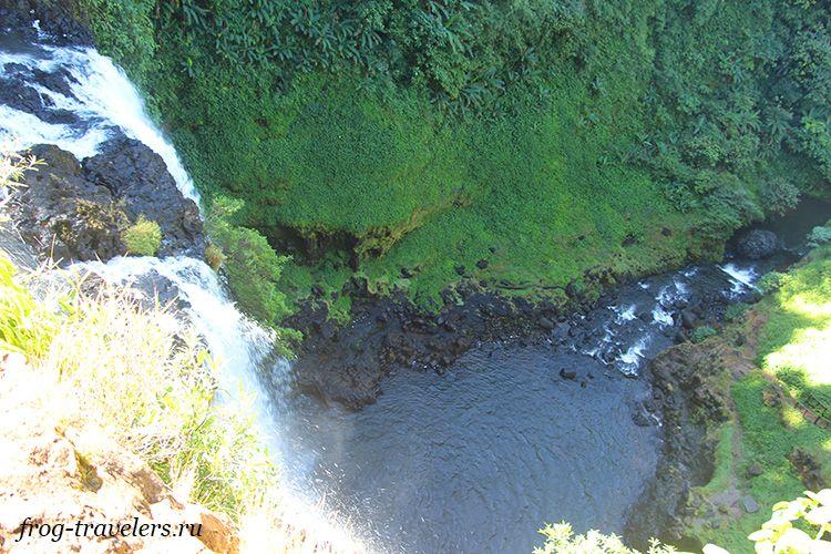 Лучшие водопады плато Болавен