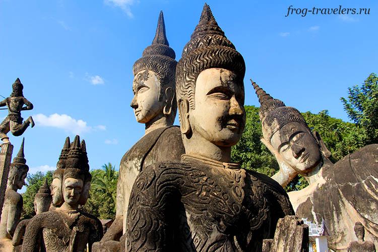 Парк Будды в Лаосе