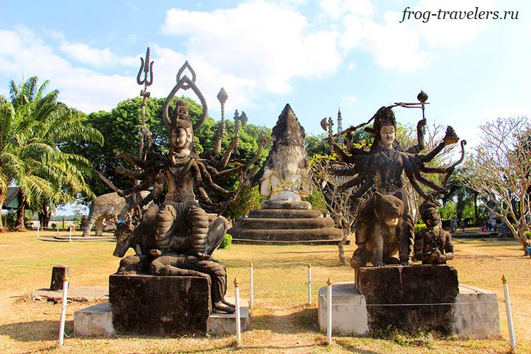 Скульптуры индуизма
