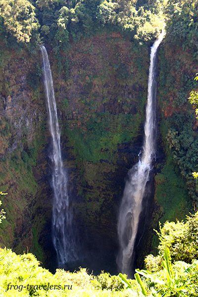 Самый высокий водопад Лаоса