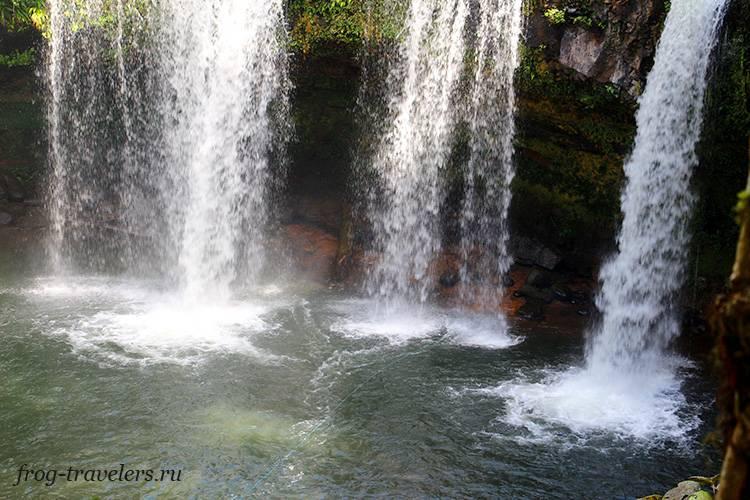 Водопады и пещеры Лаоса фото
