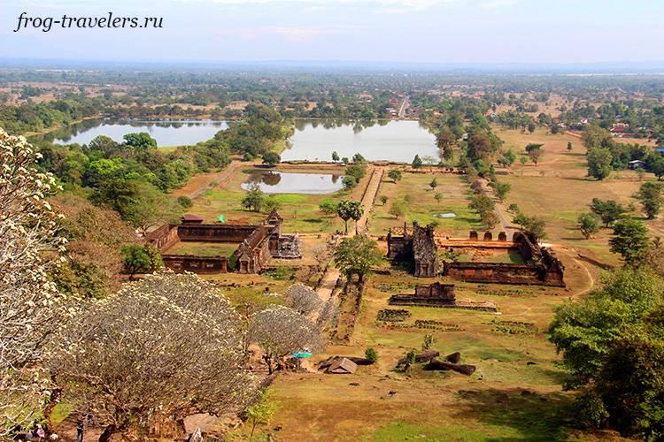 Ват Пху - кхмерский храм провинции Тямпасак Лаос