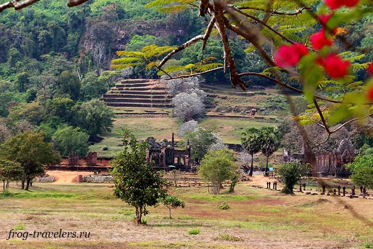 Кхмерские храмы Лаос фото