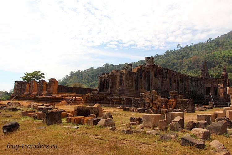Храм Ват Пху Чампасак