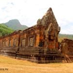 Древний храм Ват Пху Лаос