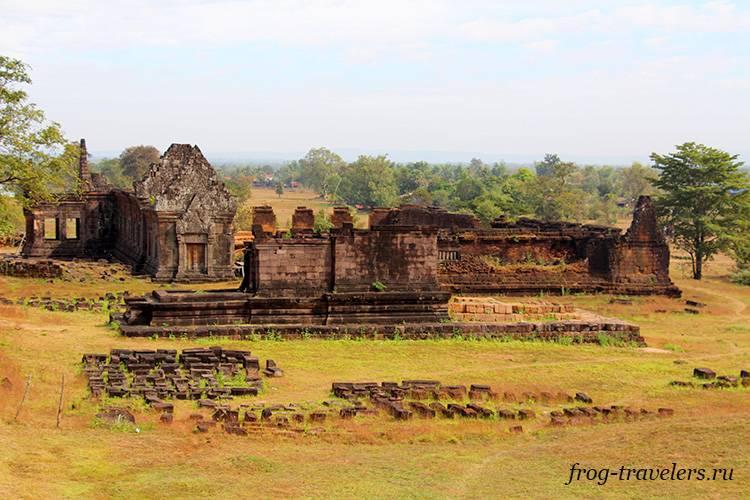 Древние руины Азия