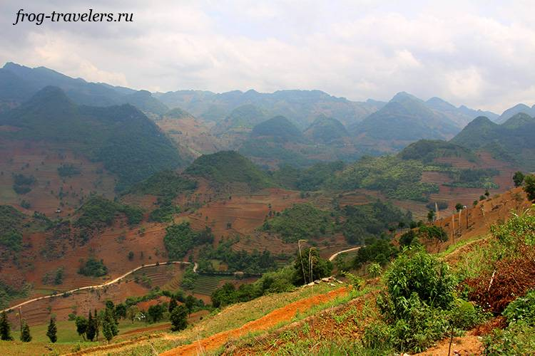 Горы Лаокай Вьетнам