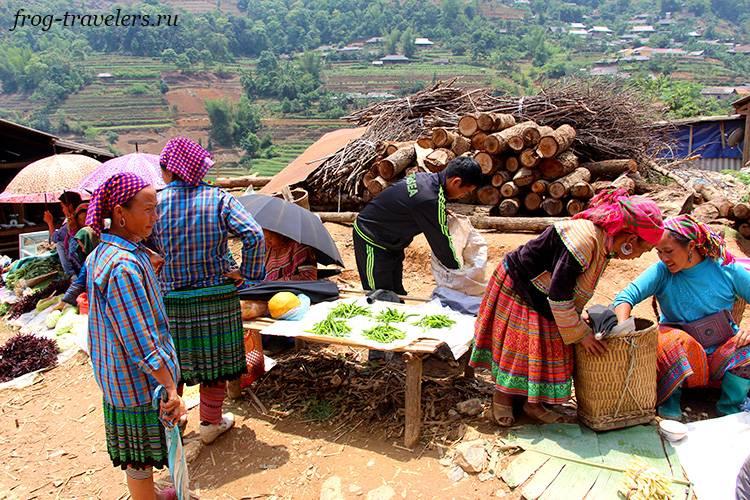 Рынки на севере Вьетнама