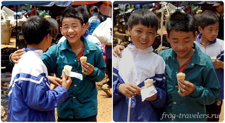 Дети во Вьетнаме