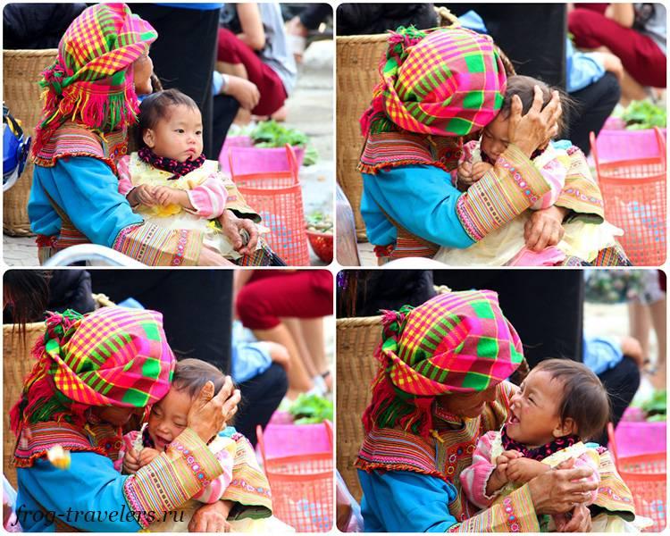 Дети в Азии