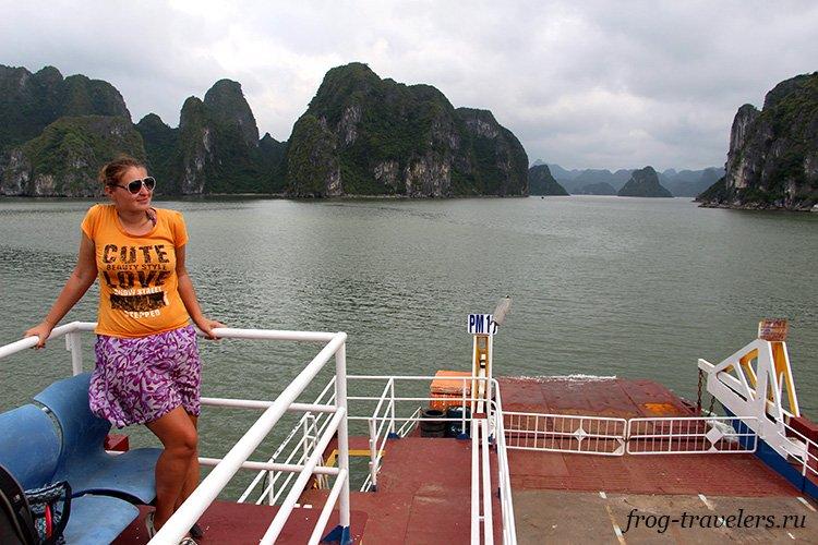 Марина Саморосенко во Вьетнаме