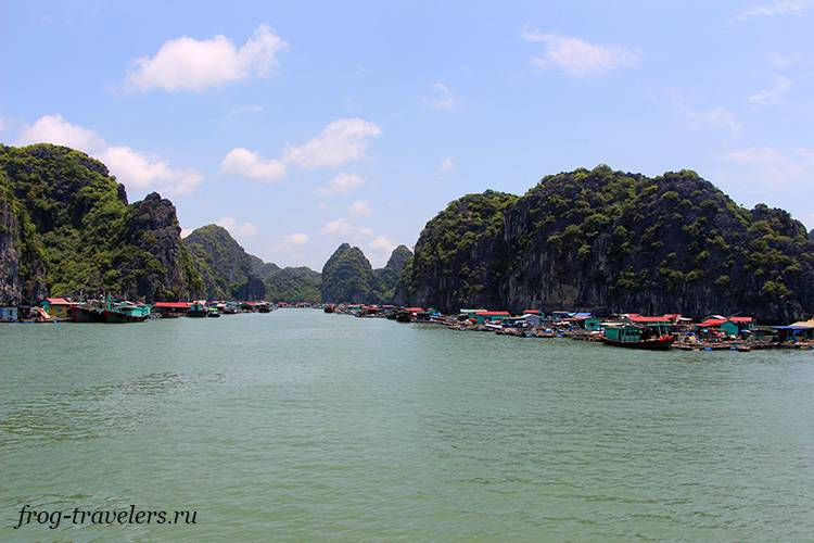 Деревня на воде Вьетнам