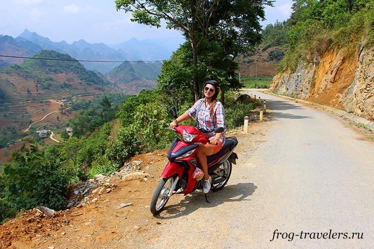 Мопеды и байки напрокат в Бак Ха, Вьетнам
