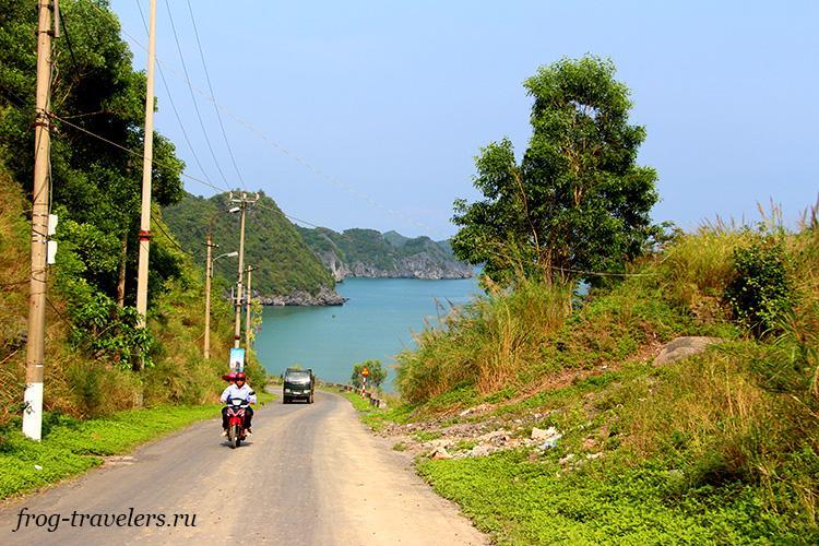 Мотоцикл, скутер напрокат на острове Кат Ба