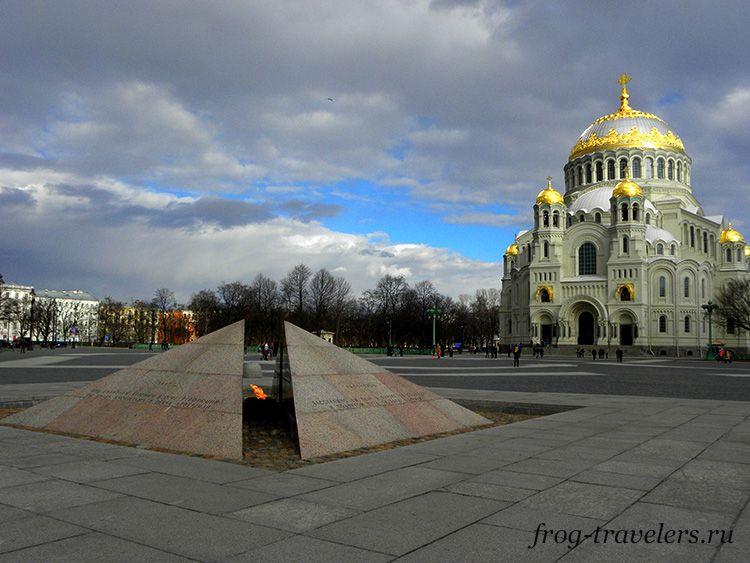 Якорная площадь Кронштадт