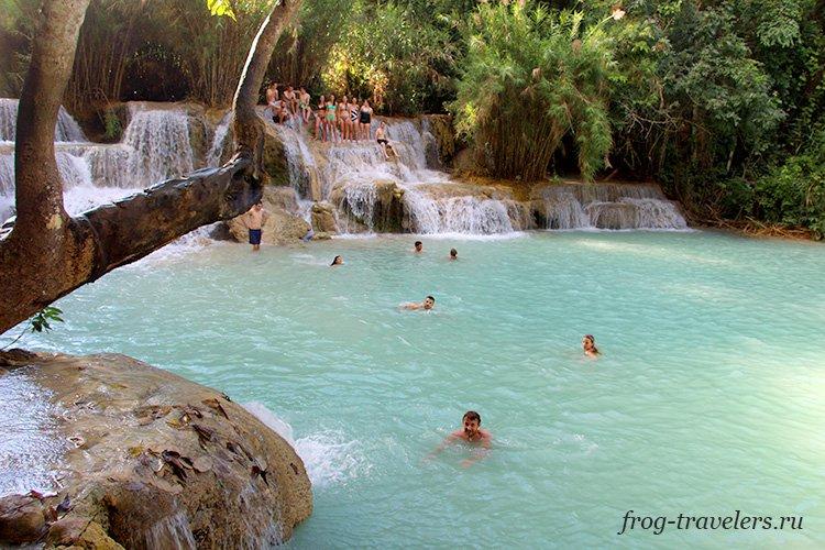 Где купаться в Лаосе