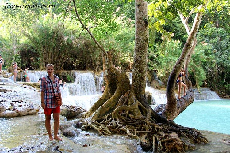 Марина Саморосенко путешествует по Лаосу