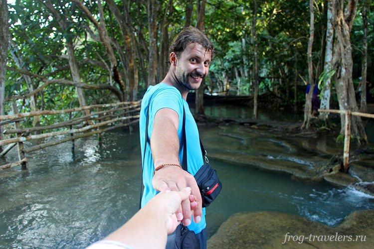 Костя и Марина Саморосенко путешествуют по Лаосу