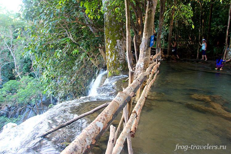 Смотровая площадка водопада Куанг Си