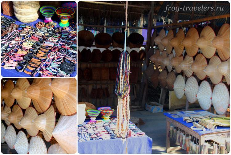 Лаосские сувениры