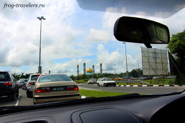 Как добраться до мечети Бруней