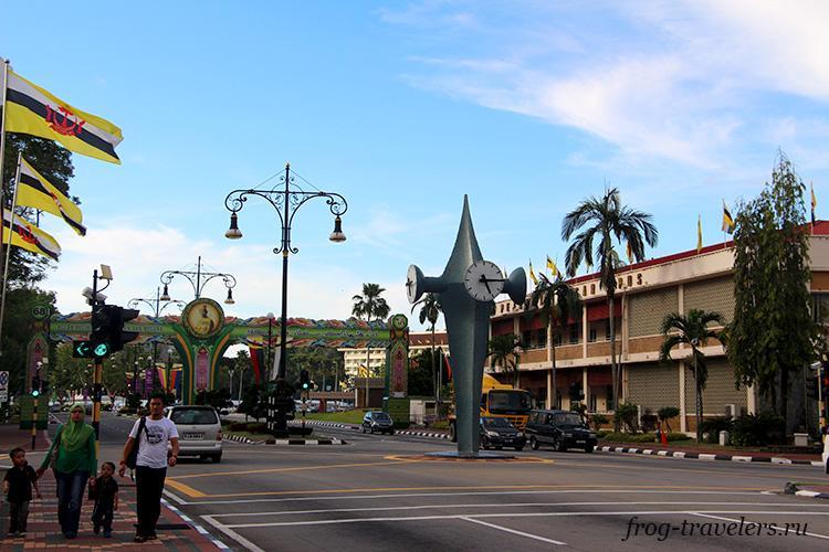 Улицы Бруней-Даруссалама