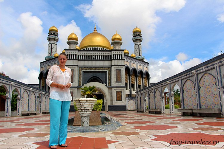 Марина Саморосенко в Брунее