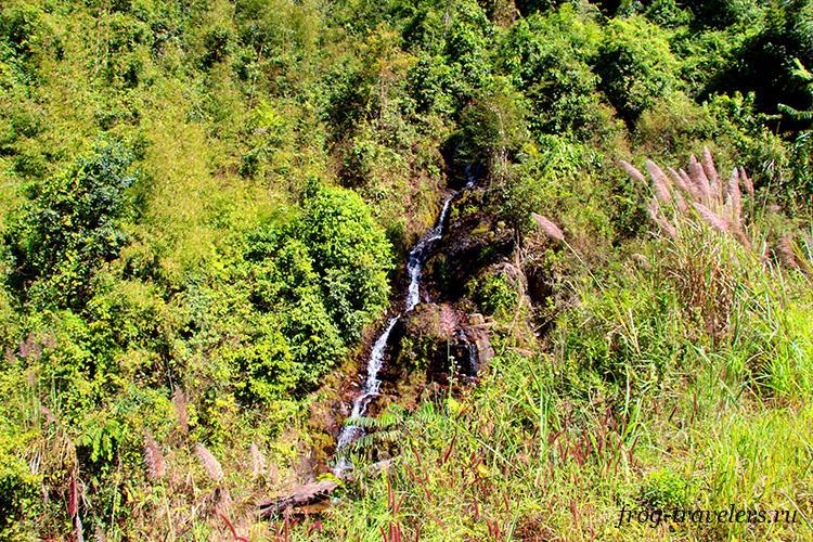 Водопады Лаоса