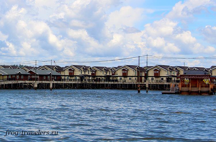 Новый коттеджный поселок на воде