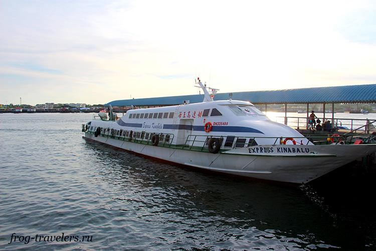 Бандар-Сери-Бегаван - Кота-Кинабалу по воде