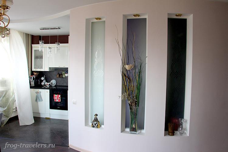 Кухня и гардеробная