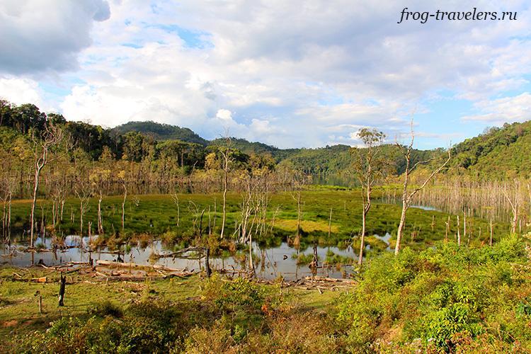 Озеро Нонгфатом Лаос