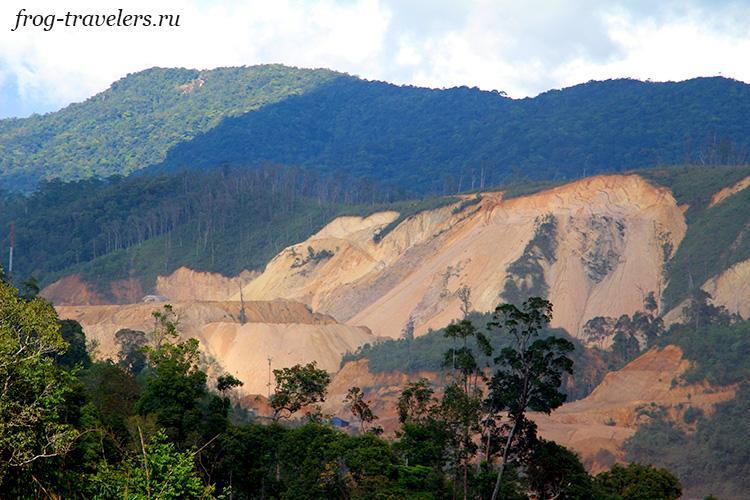 Разработка золото-сапфирных запасов на юге Лаоса