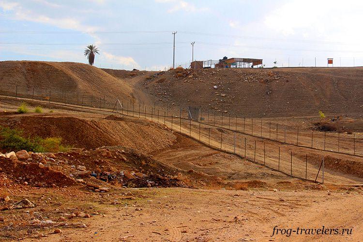 Граница Палестины