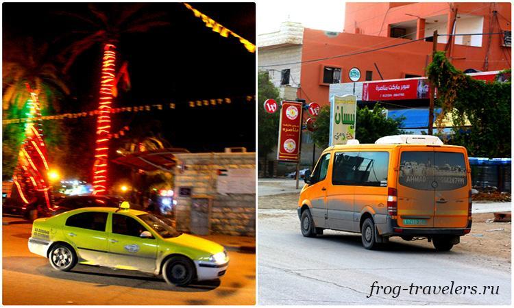 Транспорт в Палестине