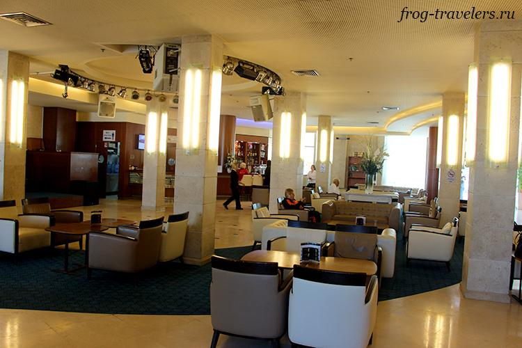 Лобби гостиницы Ход