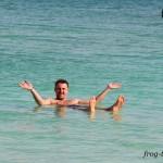 Константин Саморосенко на Мертвом море