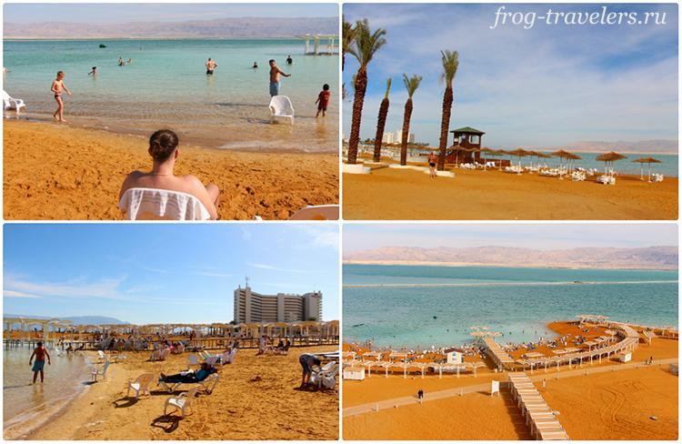 Курорты Мертвого моря в Израиле