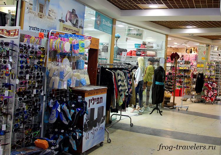 Магазины в Эйн-Бокек