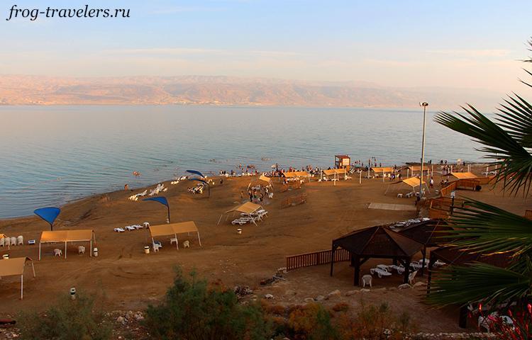 Пляж Калия Мертвое море