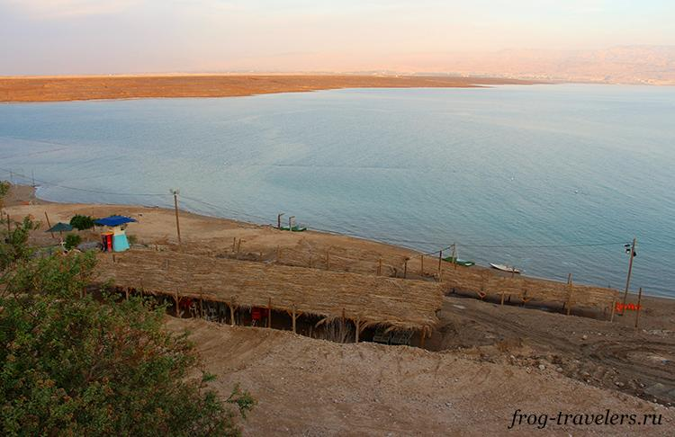 Пляж Бианкини Мертвое море